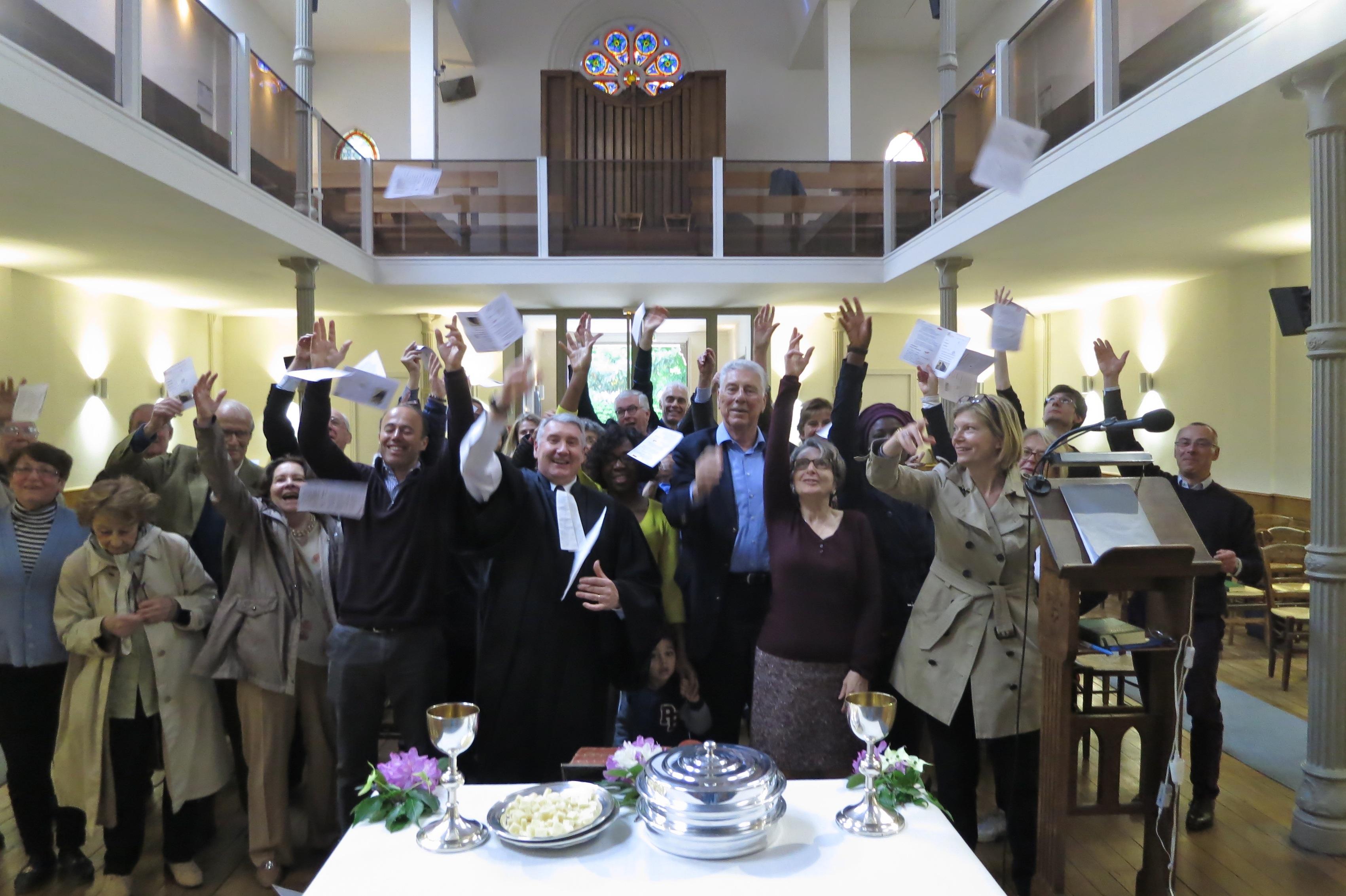 La joie du culte du dimanche matin