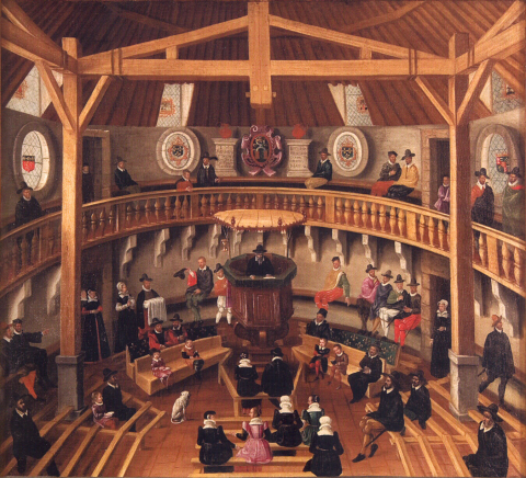 temple huguenot
