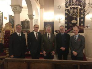 29 novembre 2018 à la synagogue de Neuilly